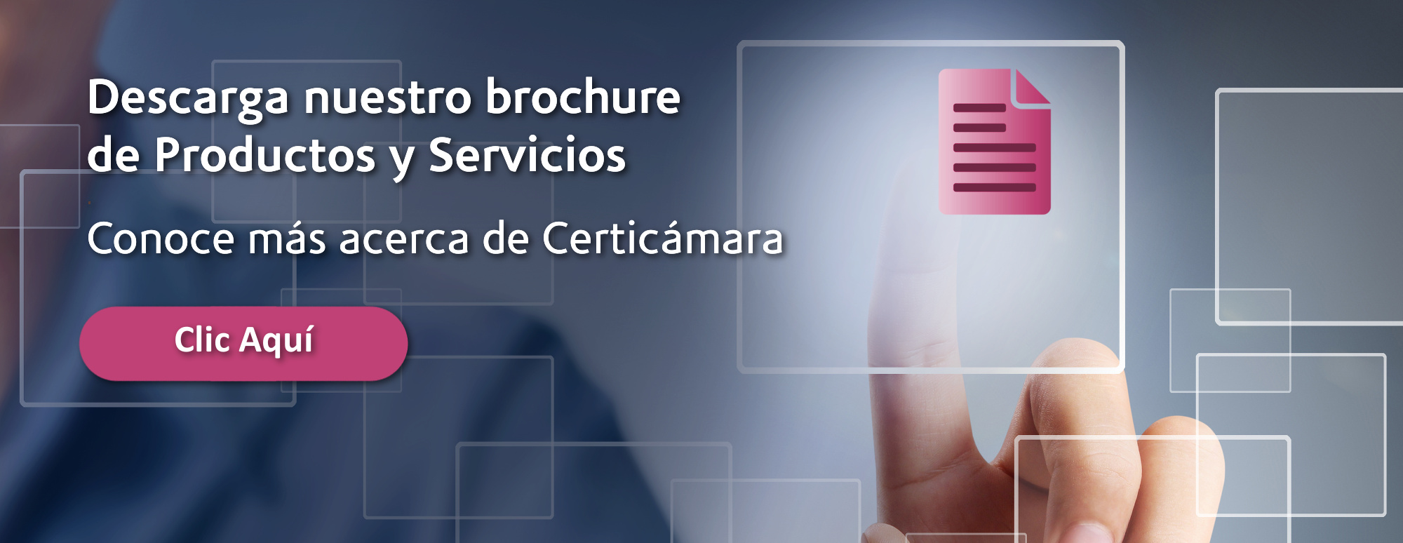 Brochure Certicámara 2016